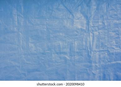 Blue plastic tarp texture wallpaper