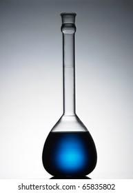 Blue Potion in Bottle