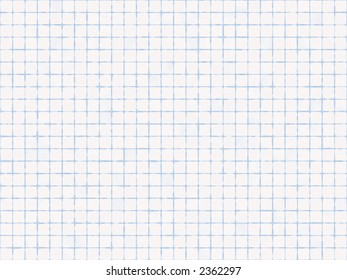 worksheet graph grid seamless squared cells stock illustration