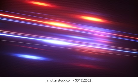 blue red glowing stream. computer generated abstract techno background