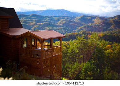 Blue Ridge Mountain Cabin View Smoky