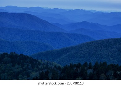 Blue Ridge Mountain Evening