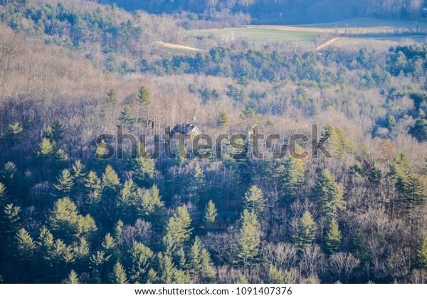 Blue Ridge Mountains Asheville Nc Stock Photo Edit Now