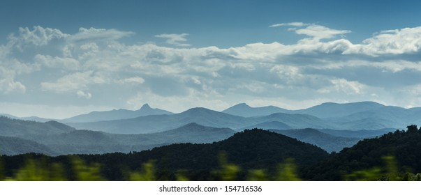 Blue Ridge Mountains scenic panorama