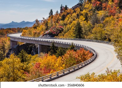 Blue Ridge Parkway at fall