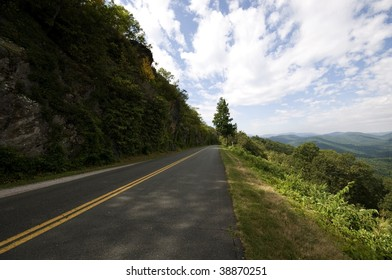 Blue Ridge Parkway in Virginia