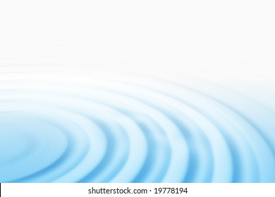 Blue ripple background