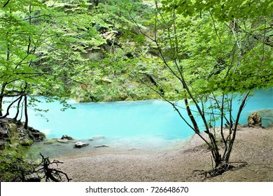 the blue river, Natural Park Urbasa, Urederra River, Navarra, spain, peace, calm, serenity, harmony, fullness, well-being, nature, natural, contemplate, meditate, breathe, grow, happiness, tranquility
