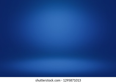 Blue room in the 3d. Light style background.