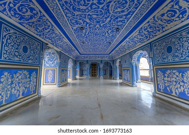 Blue room in City Palace Jaipur,India 30/09/2018