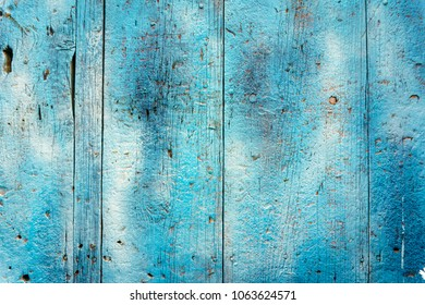 Blue Rustic wood background
