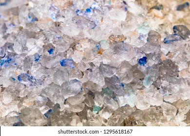 Blue Sapphire Persian Salt - Close up