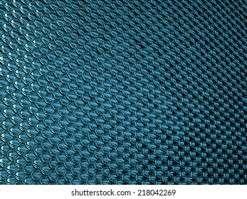Blue Scales textured material or background