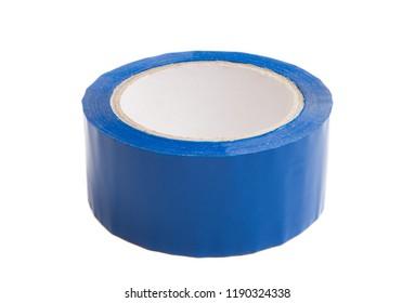 blue scotch isolated on white background