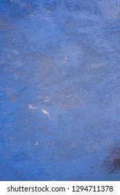 Blue scratch cement textured wall background