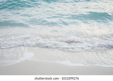 Blue sea, beach, background