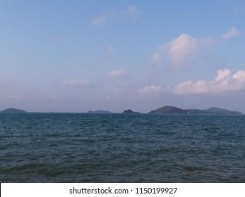 blue sea ble sky