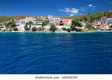 blue sea at the Greece