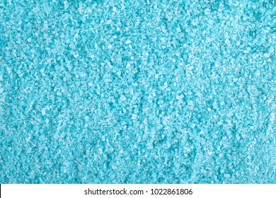 Blue sea salt crystals, spa salt, crystal salt texture