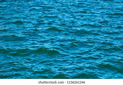 blue sea water as background