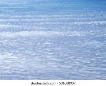Blue sea water texture and background