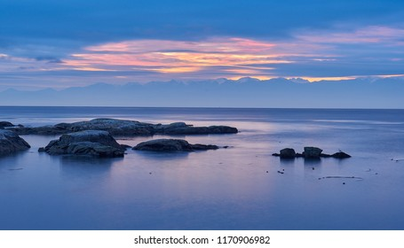 Blue serene Sunrise!