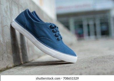 Blue shoes Men shoes shoes  Street Sneakers Shoes Blue