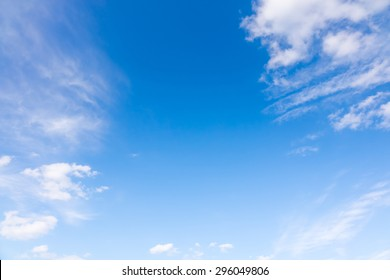blue sky abstract clouds