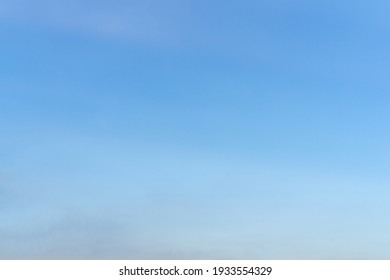 Blue sky background with area for copy space.