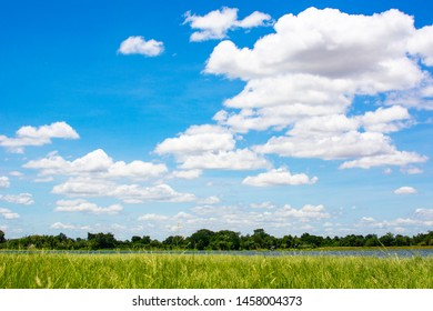 Blue sky background and clouds. Look so bright and beautiful.