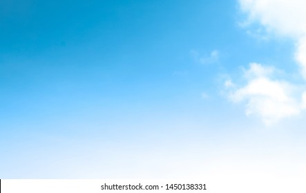 blue sky with beautiful natural white clouds