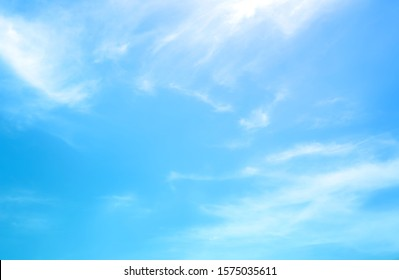blue sky with beautiful natural white clouds - Shutterstock ID 1575035611