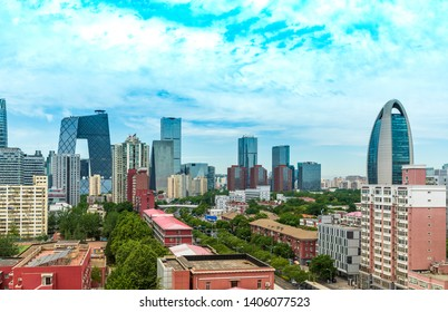 Blue Sky CBD Business Circle in Beijing, China