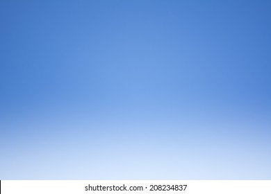 Blue sky in the clear sky day image background.