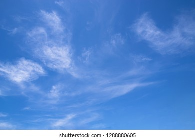 blue and sky with cloud.