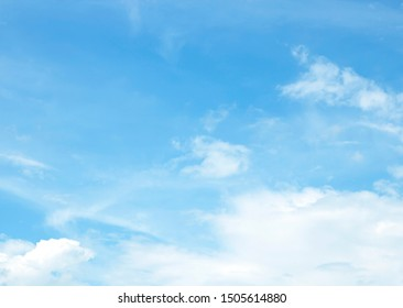 blue sky with cloud background beautiful