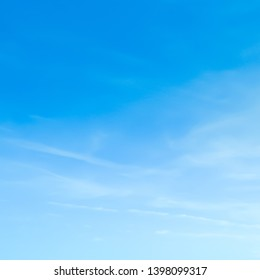 blue sky with cloud background beauty clear sky