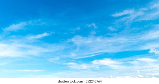 blue sky with cloud. Clearing day and Good weather.