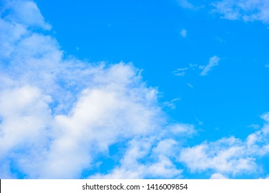 blue sky with cloud nuture background