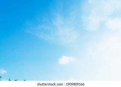 Blue sky with cloud at Phuket Thailand