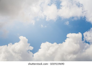 blue sky with cloud.picture background website or art work design