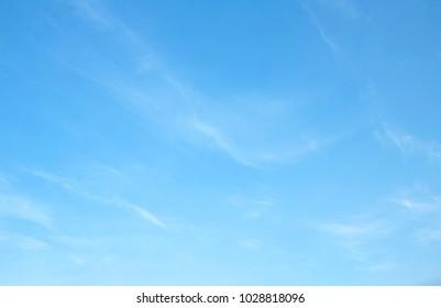 blue sky clouds background - Shutterstock ID 1028818096