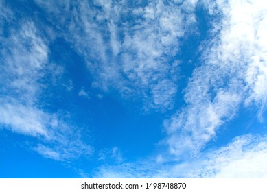 Blue sky with clouds, Nature background