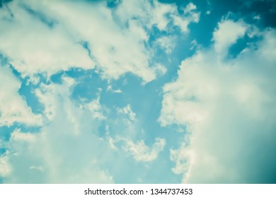 blue sky and clouds  nature wallpaper background