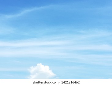 blue sky clouds  white  natural  beautiful
