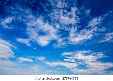 Blue sky and clouds XXL. Sky and clouds background. Sky background / Blue Sky and Clouds