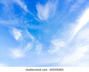blue sky and cloudy for background