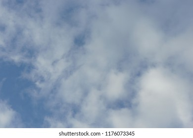 Blue sky with cloudy before rains