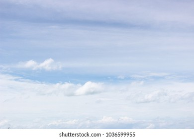 blue sky in cloudy day. sky texture. smoothly cloud.