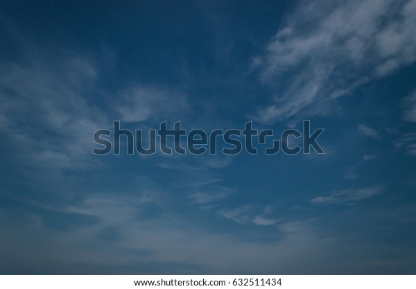 Blue sky with cloudy in nature,landscape